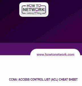ccna cheat sheet